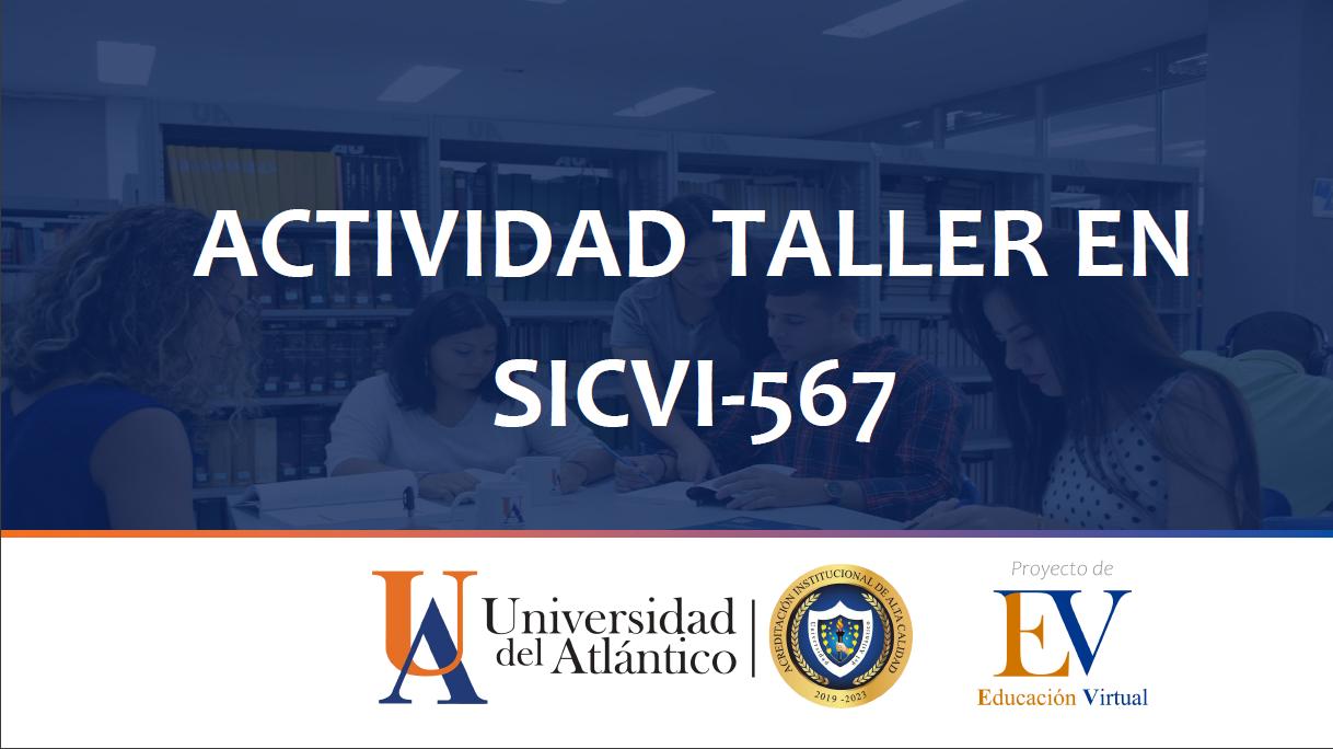 Actividad Taller SICVI-567